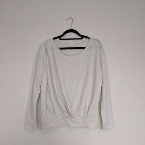 Free People Gathered Sweatshirt / M